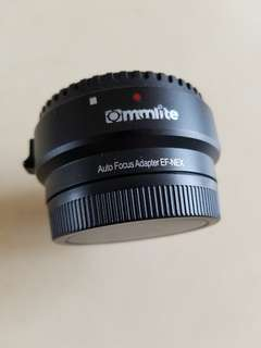 Commlite Canon EF to Sony E mount adapter