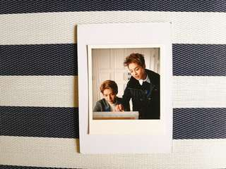 [EXO 엑소 Official Goods] Kris + Xiumin Miracles in December Polaroid