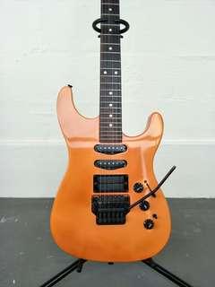 1988 US Fender Stratocaster, HM Strat Flash Pink, Electric Guitar