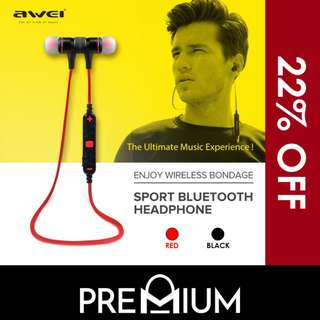 [PREORDER SPECIAL] AWEI A920BL Bluetooth Earphone