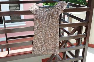 Crissa brown top