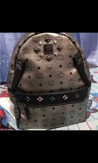 MCM Dual Stark backpack silver