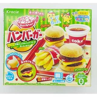 日本 Kracie  小孩 DIY 漢堡包  (可食) 這款需用微波爐  1盒$25