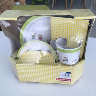 Baby Plate/Bowl/Cup Set