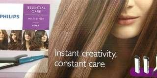 Philips六合一沙龍美髮造型器 捲髮器+直髮夾