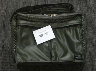 ORIGINAL PORTER TANKER BAG CAN BE USED AS LAPTOP BAG - FREE SHIPPING WITHIN MM AREA
