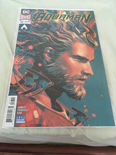 Aquaman 33 Rebirth Variant