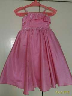 Pink Gown for Girls