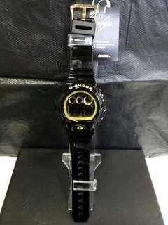 "DW-6900CB-1卡西歐品牌手錶""Casio""""G-Shock""日本機芯一年保養"
