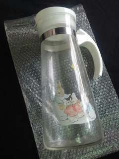 [Postage Free] The World Of Peter Rabbit : Glass Bottle / Water Bottle 彼得兔 比得兔 : 玻璃水壺