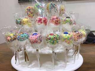 Marshmallow pops / cake pops / oreo pops