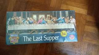 BNIB 500 PIECES JIGSAW PUZZLE (THE LAST SUPPER)