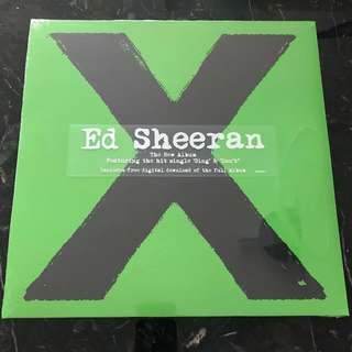 Ed Sheeran - X vinyl Lp. New