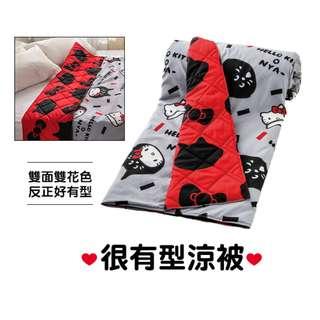 【預購】台灣代購 屈臣氏 Hello Kitty x NYA Ne-net 很有型涼被