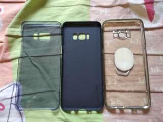 S8 plus 手機殼三個