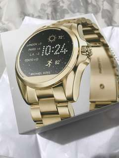 Just Arrived from U.S.A! MK Access Touchscreen Gold Bradshaw Smartwatch