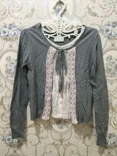 blouse cardigan