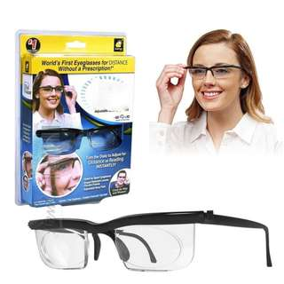 Adjustable Reading Eye Glasses with Case