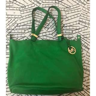 RAYA BARGAIN!! Michael Kors Leather Bag Colgate Green