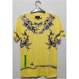 Flocked Heraldic T-Shirt (Zara Men's Printed T-Shirt)
