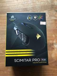 Corsair Scimitar Pro RGB (Black) - MMO Gaming Mouse
