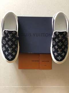 Louis Vuitton LV Trocadero Monogram Slipon Sneaker