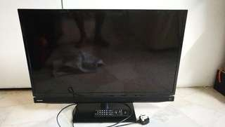 Toshiba 32 inch LCD TV rosak