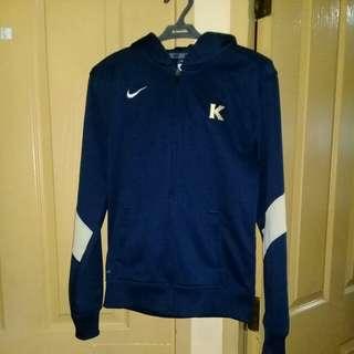 Nike navy blue hoodie