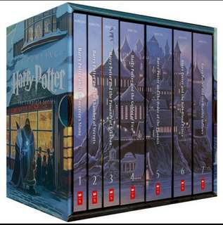 Harry Potter book full set 1-7