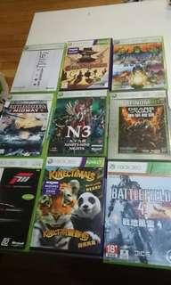 Xbox 360 games 10sgd each