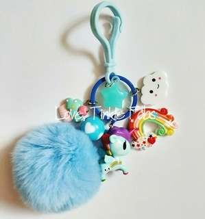 Tokidoki mini pixie bag charm fob