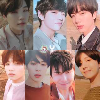 BTS LOVE YOURSELF TEAR OFFICIAL PHOTOCARD