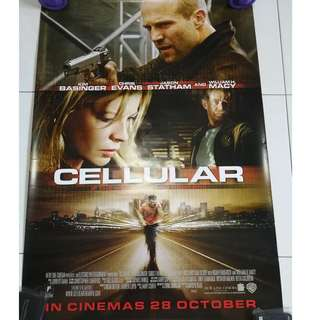 Cellular movie poster