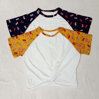 RAGLAN TWIST TOP