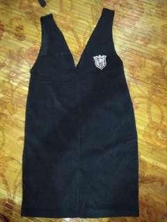 Dress Black with zipper