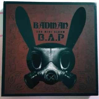 B.A.P - BADMAN Album