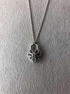 Tiffany Sliver Heart Necklace
