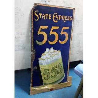555 Enamel Antique Frame