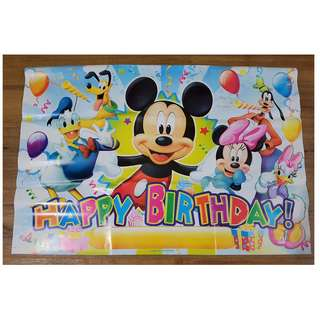 Mickey Background Banner
