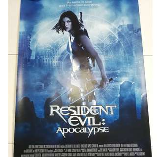 Resident Evil Apocalypse movie poster
