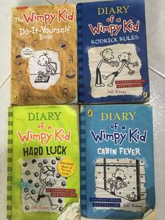 Diary Of A Wimpy Kid Series Combo
