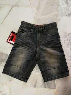 Detail Kids Short Jeans