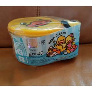 (清貨價) B Duck 膠盒仔 毛巾 套裝