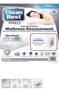 2 in 1 CleanRest PRO Mattress Encasement (single)