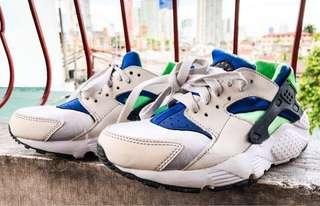 Nike Huarache Scream Green 4y