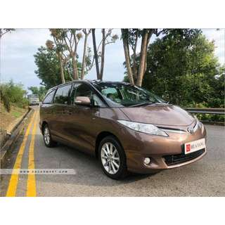 TOYOTA PREVIA 8 SEATER MOONROOF CVT