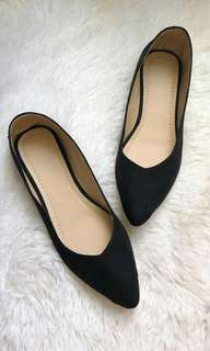 Flat shoes, Doll shoes for women Black on SALE - free shipping*