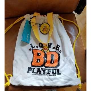 (清貨價) B Duck 可愛 布 背包 手挽袋 約38cm高