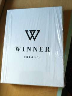 Winner 2014 s/s limited edition White ver 限量專輯 album 金秦禹