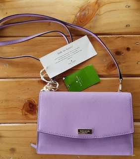 Authentic BNEW Kate Spade Laurel Way Organizer Sling